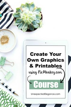 Are there times that you need a specific graphic for a project or a one-of-a-kind piece of artwork? Well, now you can make your own. Join this complimentary 5-day email course that will show you how to use PicMonkey to create one-of-a kind graphics.
