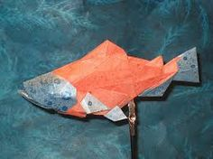 Image result for origami salmon instructions