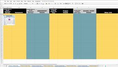 Google sheets can be a valuable tool for Maintaining Student's Agendas