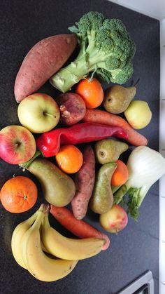 Biologische groenten en fruit, voor een hoop biologische maaltijden! 🤗 Happy Healthy, Healthy Food, Healthy Recipes, Fruit, Pear, Healthy Foods, Healthy Eating Recipes, Healthy Eating, Health Foods