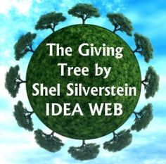 The Giving Tree Idea Web Creative Writing Worksheet and Lesson Plans 3rd Grade Writing, Third Grade Reading, Creative Writing Worksheets, Social Emotional Activities, The Giving Tree, First Grade Science, Shel Silverstein, Kindergarten Lesson Plans, Writing Lessons