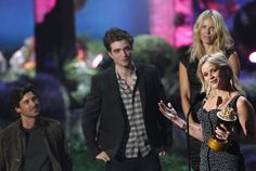 2011 MTV Movie awards--Patrick Dempsey, Robert Pattinson, Chelsea Handler, & Reese Witherspoon