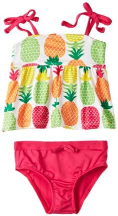 Pink Platinum Girls 2-6X Colorful Pineapples Swimsuit, White, 3T Pink Platinum,http://www.amazon.com/dp/B00AV2F3DQ/ref=cm_sw_r_pi_dp_jf2btb1T02K4GKGD