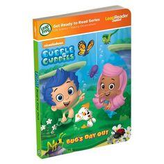 LeapFrog LeapReader Junior Book: Nickelodeon Bubble Guppies