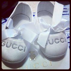 Zapatitos para la princesa Maia :) #Gucci #Baby #Shoes #Cool