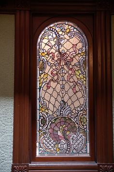 Tiffany Stained Glass at Winchester Mansion (Mystery House)