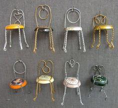 champagne cork chairs... how cuteee