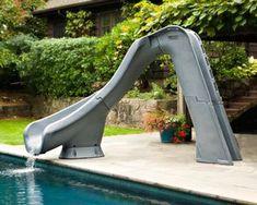 Swimming Pool Slide Ideas inground swimming poolslidegrotto Typhoon Pool Slide In The Swim Pool Supplies