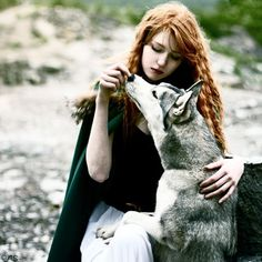 BRAVE with wolves. Story of My Life