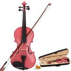 NEW 4/4 Full Size Violin Starter Kit Acoustic Violin With Bow, Rosin, Case (Violin for beginners,violin for kids,violin for children,violin for adults) - Pink YR.Seasons http://www.amazon.com/dp/B00U0ZKDQ6/ref=cm_sw_r_pi_dp_U4Oovb124T5Y4