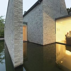 Villa Rotonda by Bedaux de Brouwer ArchitectenThe house is situated near a busy round-about with lots of noisy traffic