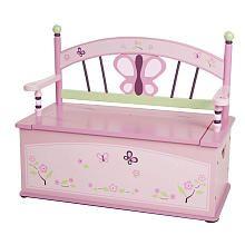 CoCaLo Sugar Plum Toy Box Bench