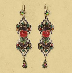 Michal Negrin DANGLE EARRINGS 13066