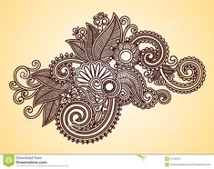 Images For > Henna Design Drawing