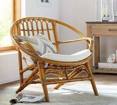 Luling Rattan Chair | Pottery Barn