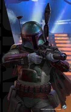 Boba Fett Art, Jango Fett, Star Wars Boba Fett, Star Wars Poster, Star Wars Art, Saga, Chasseur De Primes, Han Solo And Chewbacca, Episode Iv