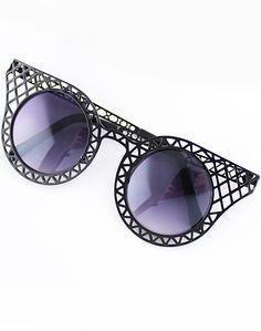 Shop Black Hollow Cool Sunglasses online. SheIn offers Black Hollow Cool Sunglasses & more to fit your fashionable needs.