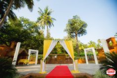 Decoration Ideas - The Wedding Decoration! Photos, Hindu Culture, Beige Color, Decoration, Destination Wedding, Goa Wedding pictures, images, WeddingPlz