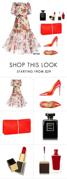 """""""SUMMER ...... FEVER 🌹"""" by betty-sanga ❤ liked on Polyvore featuring WithChic, Salvatore Ferragamo, Nina Ricci, Chanel and Tom Ford"""