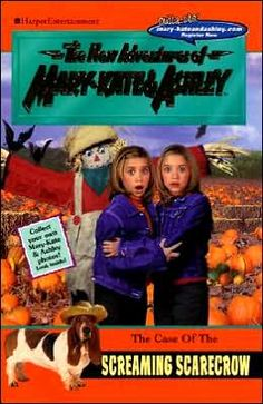 Case of the Screaming Scarecrow (New Adventures of Mary-Kate and Ashley Series) by Mary-Kate Olsen, Ashley Olsen