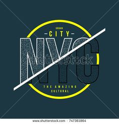 nyc urban typography t shirt, vector design illustration artistic concept