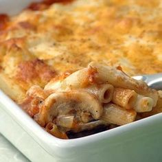 Macaroni Cheese with Mushrooms