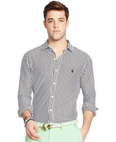 Polo Ralph Lauren Striped Knit Interlock Shirt