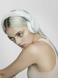 The Beats x Fendi Pro Headphones with custom ocolor matched Fendi Selleria case. Girl With Headphones, Gackt, Star Fashion, Fendi, Beats, Accessories, Mindset, Audio, Poses