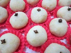 Docinhos de Batata Doce com Coco.Fácil de fazer, barato e sem leite condensado.