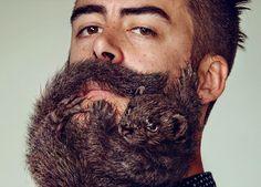 Tendencias de la moda para hombres dejarse crecer la barba