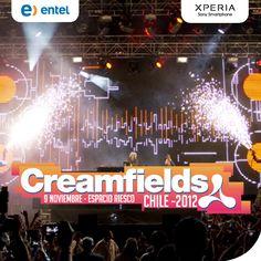 Escenarios listos para levantar el Pulso en Santiago de Chile, con Creamfields 2012