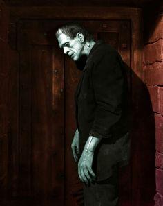 Frankenstein Victor Moritz: You're crazy! Henry Frankenstein: Crazy, am I? Boris Karloff Frankenstein, Frankenstein 1931, Richard Iii, Beetlejuice, Old Hollywood, Classic Hollywood, Hollywood Monsters, 7 Arts, Frankenstein's Monster