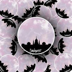 Budapest, Sticker App, Skyline, Getting Wet, Your Photos, Album, Stickers, Etsy, World