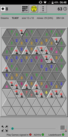 A tile has up to 12 neighbours. Game App, Google Play, Triangle, Tile, Dreams, Games, Fun, Plays, Mosaics
