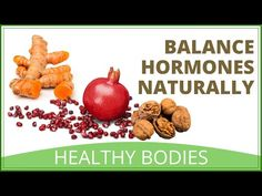 10 Foods That Can Help Balance Your Hormones Naturally - YouTube Get Healthy, Healthy Food, Healthy Recipes, Whole Food Recipes, Dog Food Recipes, Balance Hormones Naturally, First Health, Natural Foods
