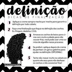 O post de hoje é… Curly Hair Tips, Curly Hair Care, Wavy Hair, Curly Hair Styles, Natural Hair Styles, Samara, Beauty Skin, Hair Beauty, Rapunzel Hair