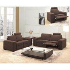 0918 Recliner Fabric Sofa Set