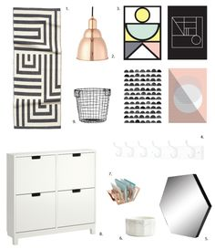 Give Your Entryway a Super Scandinavian Style Boost for Under $300