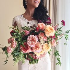 """""""Gorgeous wedding today with @amorology and @_mikeradford - an amazing team too. I can't get over the floral community and how willing everyone is to help…"""""""