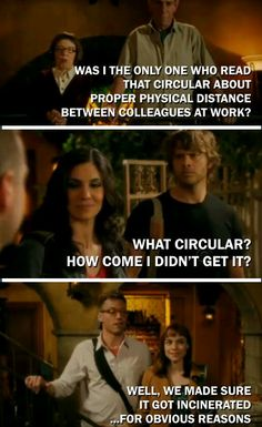 I think this is someone's edit on ncis la agents getting to be closer than partners. Tumblr.