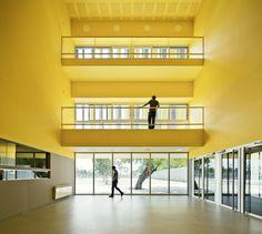 Gina Barcelona Architects   IES Roseta Mauri