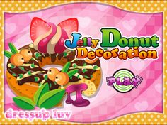 Hi, girls! For those of you who dream of becoming major decorators or famous chefs in world wide restaurants, our donut decoration game is just what you need. You will learn how to decorate a delicious donut and how to make it look just as delicious as it tastes by choosing creams, toppings and wonderful donut decoration accessories.