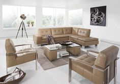 Francesca Modern Sectional Sofa by W.Schillig, Germany