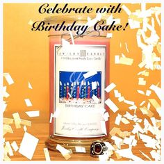Celebrate with Birthday Cake by Jewelry Candles! #JewelryCandles