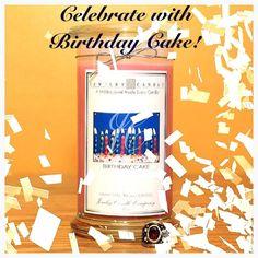 Celebrate with Birthday Cake by Jewelry Candles! #JewelryCandles