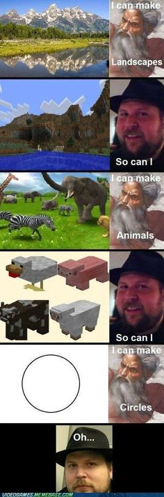 ads ads Funny Humor Lol Hilarious God 43 New Ideas Memes Minecraft Jokes, Minecraft Comics, How To Play Minecraft, Minecraft Circles, Minecraft Awesome, Minecraft Blocks, Minecraft Crafts, Minecraft Stuff, Minecraft Skins