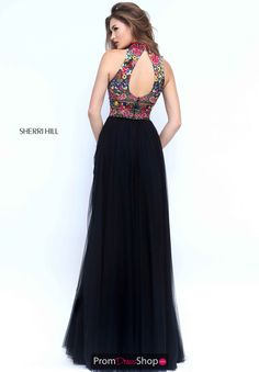 Sherri Hill - Official Site of Designer - Prom Dresses - Couture Dresses Party Wear Indian Dresses, Black Prom Dresses, Designer Prom Dresses, Indian Designer Outfits, Sherri Hill Prom Dresses, Homecoming Dresses, Mouni Roy Dresses, Prom Dress Couture, Long Sleeve Evening Dresses