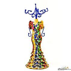 Maniqui flamenca mosaico