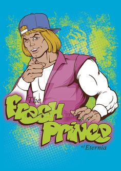 Fresh Prince + He-Man