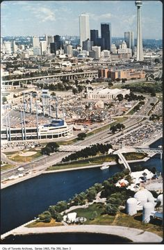 Vintage aerial photographs from the Toronto archives and the Toronto Public Library photo archives from the past years in the city. Toronto Ontario Canada, Toronto City, Toronto Travel, Downtown Toronto, City Skylines, City Aesthetic, Eagle Eye, North York, Urban Photography